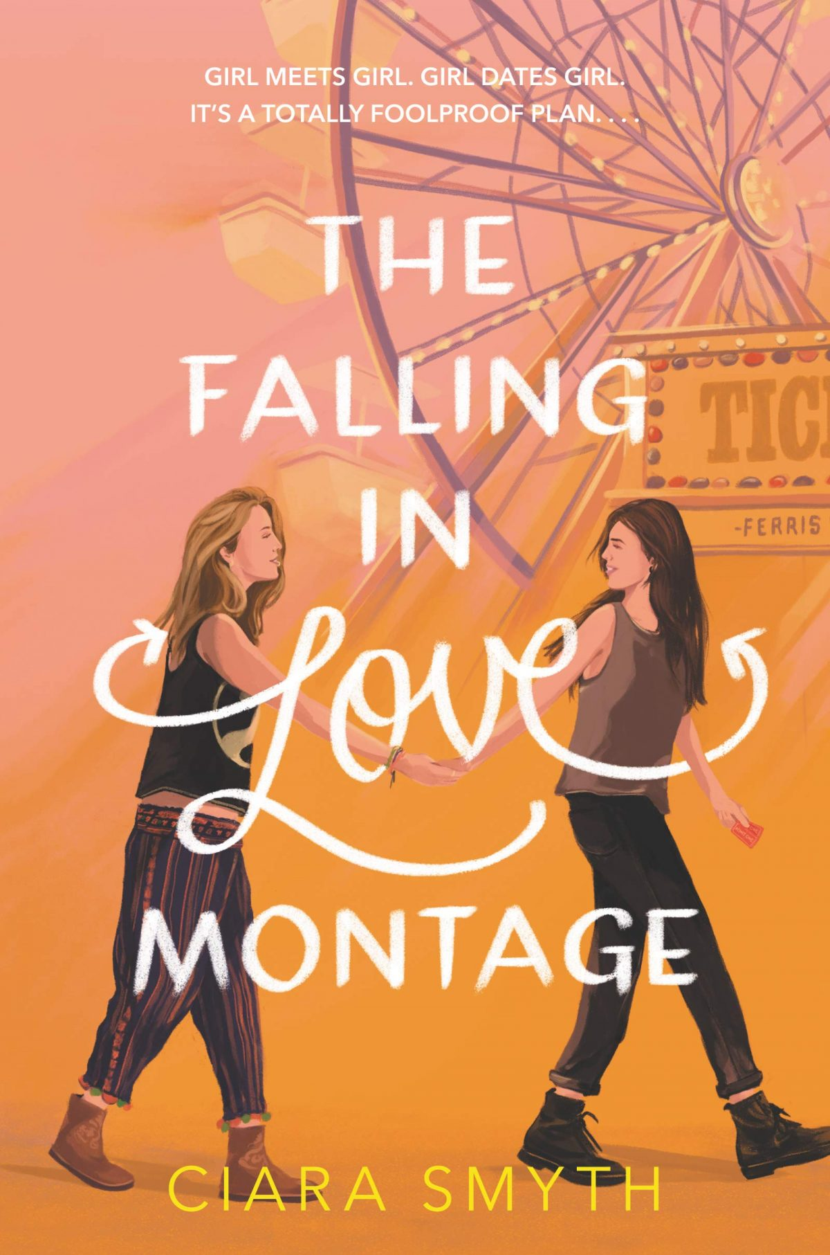 The Falling in Love Montage by Ciara Smyth lesbian books